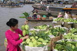 Cai Be floating market - Vinh Long Full Day join in small group tour with lunch