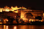 Amber Fort Light and Sound Show with Dinner and Private Transport in Jaipur