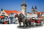 Romantic Private Tour - horse carriage & walking tour & historical photo studio