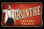 Absinthe at Caesars Palace in Las Vegas