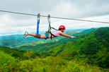 Superman Zipline Canopy Tour from Jaco