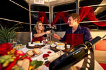 Romantic Candlelight Dinner by Cable Car in Pfingstegg