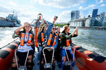 High-Speed Boat Trip through London