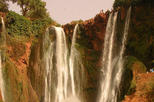 1 day to ouzoud waterfalls graved Feet of dinosaurs & ImiNifri Bridge