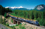 2-Day Rocky Mountaineer Train Journey from Banff to Vancouver, Banff, Overnight Tours