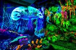 Dark Mansion - 3D Glow in the Dark Museum Admission Ticket