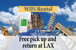4G LTE Pocket WiFi Rental, Internet Connection in Amsterdam - pick up at LAX