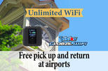 Unlimited WiFi in Japan pick up at New Chitose Airport
