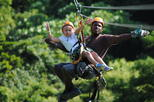 Roatan Zip Line, Island Highlights, and Shopping with Beach