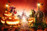 SPECIAL HALLOWEEN ! Disneyland Paris Express Shuttle with Entrance Tickets