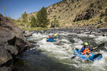 Whitewater Inflatable Kayak Trip - Salida Town Run Half Day