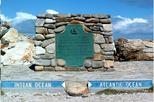 CAPE AGULHAS DRIVE TO PACIFIC & INDIAN OCEAN MEETING POINT