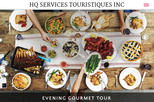 Evening Gourmet Tour 5 Course Dinner in Quebec City