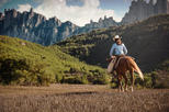 Montserrat Monastery and Horseback Riding Premium Small Group Tour from Barcelona