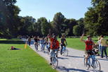 Munich Bike Tour with Optional Königsplatz and Olympiapark Visit