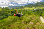 Monkeyland and Zipline Adventure from Punta Cana