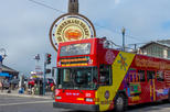 San Francisco MegaPass - 1 Day Official Hop-On Hop-Off Tour plus 2 attractions