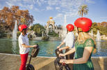 Guided Segway Tour with Jamón Experience in Barcelona
