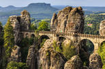 Bohemian and Saxon Switzerland National Parks from Teplice
