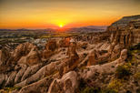 Cappadocia South Sightseeing Tour: Underground City, Red Valley, Cavusin, Ortahisar, Pigeon Valley