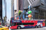 Hop-On Hop-Off New York Bus Tour with Statue of Liberty Ticket and More