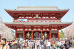 Asakusa 1400 Years: Small Group Walking Tour with Snacks