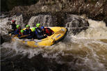White Water Rafting and River Bugs on the River Tummel