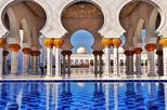 Abu Dhabi Sheikh Zayed Grand Mosque with Coffee at Emirates Palace from Dubai