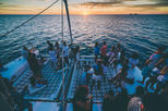 Ibiza Sunset Catamaran with Drinks, Tapas and After-Party Club Entrance