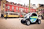 Lisbon's Old Town Tour in an Electric Car with GPS Audio Guide