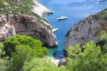 Blue and Green Cave Speedboat Tour from Hvar