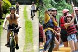 Full Day - Ubud Cycling & White Water Rafting with Complementary Lunch