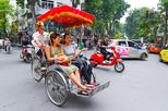 Hanoi Cyclo and Walking Small-Group Tour