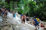 Half Day Blue Hole Falls with Tubing or Rafting in Montego Bay