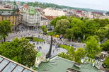 Lviv on the verge of sky