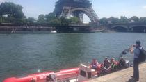 90 minutes Speed Boat Tour in Paris with High Speed Experience and Cruise, París