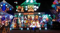 Weihnachtsbeleuchtung in Dyker Heights Brooklyn, New York City, Christmas