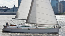 Luxury Sailing Yacht Cruise of New York Harbor with Optional Champagne Upgrade, New York City, ...
