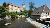 Scenic Transfer from Prague to Vienna Including Half-Day Sightseeing in Cesky Krumlov, Prague, ...