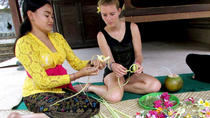 Private Tour: Ubud Day Tour with Traditional Offering Lesson, Ubud, Private Sightseeing Tours