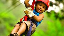 Full Day Adventure Tour Canopy Horseback ride water slide and natural Hot spring from Playa...