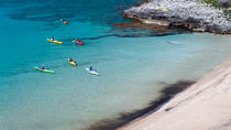 Kayaking at the foot of Mount Taygetos, Peloponnese