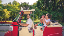 Unique Margaret Island Tour with a TukTuk, Budapest, Vespa, Scooter & Moped Tours