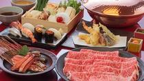 Oiran Show with Kobe Beef Shabu-Shabu Dinner in Roppongi, Tokyo, Dinner Packages
