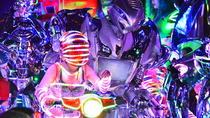 Tokyo Robot Cabaret Show Including Cherry Blossom Viewing Party with Local Food and Drinks, Tokyo, ...