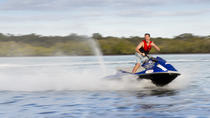 Moreton Bay Marine Park Jet Ski Tour from Caloundra, Noosa & Sunshine Coast, Waterskiing & ...