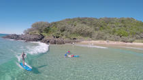 Double Island Point Surf Lesson on Australia's Longest Wave from from Noosa Including 4WD Great ...