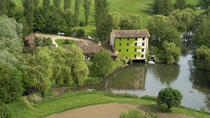 Panoramic helicopter tour of the picturesque Veyle River Watermills, Mâcon, Helicopter Tours