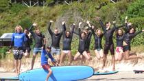 Byron Bay Surfing Lesson and Mount Warning Sunrise Climb Including Overnight Camping and BBQ ...