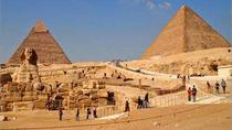 Stopover Tour from Cairo to Pyramids, Sphinx, Citadel, Alabaster Mosque, Egypt Museum and Khan ...